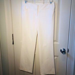 WORTHINGTON MODERN FIT trousers 6P EUC WHITE